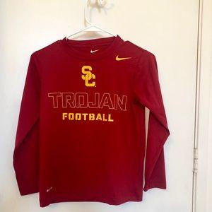 Nike SC Trojan football kids sport shirt dry fit